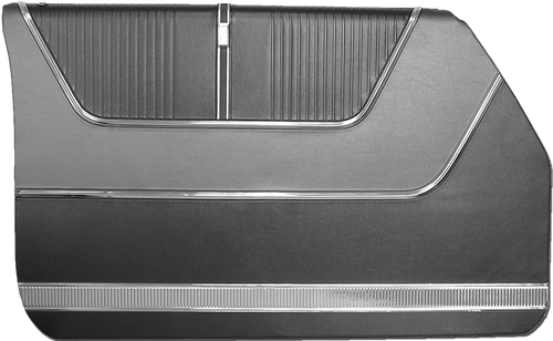 1964 Ford Galaxie 500 4-Door Sedan Door Panels