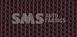 1967 Cadillac De Ville Convertible Maroon Perforated Leather