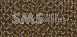 Plymouth Gold Duster Snake Skin Vinyl Top