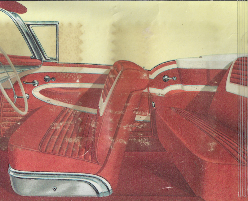 1957 Oldsmobile Super 88 Convertible Coupe Trim 329 Complete Interior