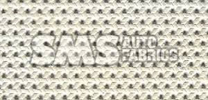 1966 Cadillac Sedan de Ville White Perforated Leather