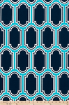 Drapery Panel Border - Fargo Fabric