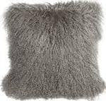 "Mongolian Fur Pillow 20""x20"""
