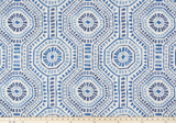 Drapery Panel Border - Bricktown Fabric