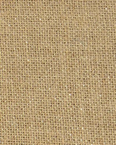 Drapery Panel Border - Burlap Fabric