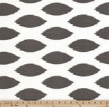 Drapery Panel Border - Chipper Fabric