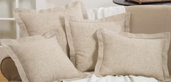 Natural Hemstitch Pillows