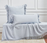 Lavato Tassel Throw Blankets + Pillows