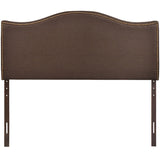Arch Nailhead Upholstered Headboard
