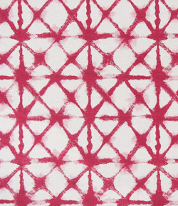 Drapery Panel Border - Shibori Net Fabric