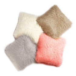 Mongolian Fur Pillow 20
