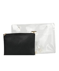 Clear Envelope Clutch