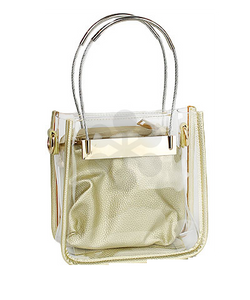 Clear Rectangle Handbag