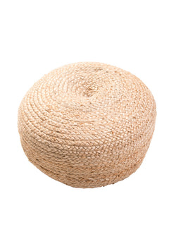 Natural Fiber Poufs & Ottomans
