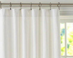 Drapery Panel - Blackout Fabric (White only)