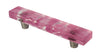 "MP6-DP - Millennial Pink Delicate Pink 4"" cc Glass Pull Handle"