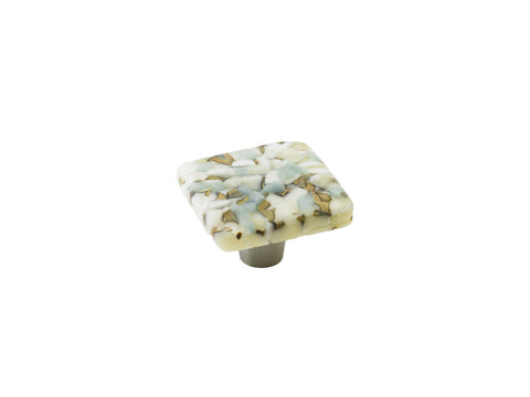 Pebbles Powder Sand Square Knob