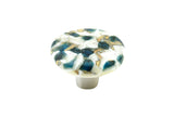 Pebbles Blueberry Circle  Knob