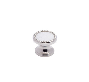 "PN3 - Classico Polished Nickel 1.25"" Round Knob"