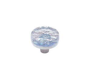 Pearl Diamond Circle Knob