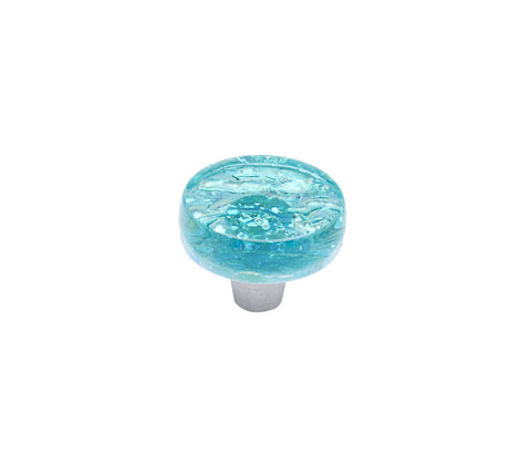 Pearl Turquoise Circle Knob