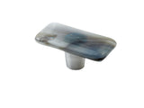 Shell Indigo Bark Rectangle Knob