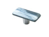 Shell Misty Gray Rectangle Knob