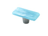 Shell Powder Mist Rectangle Knob