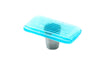 Stripe Crystal Blue Rectangle Knob
