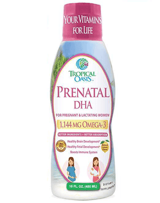 Liquid Prenatal Supplement for a Healthy Pregnancy
