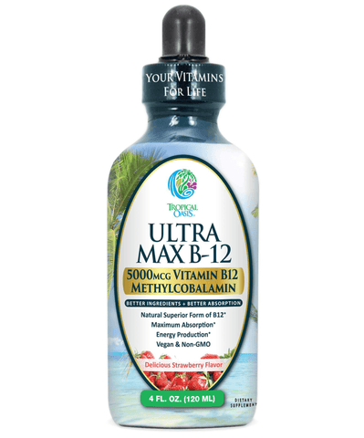 Ultra Max Methyl B12 Liquid Vitamins