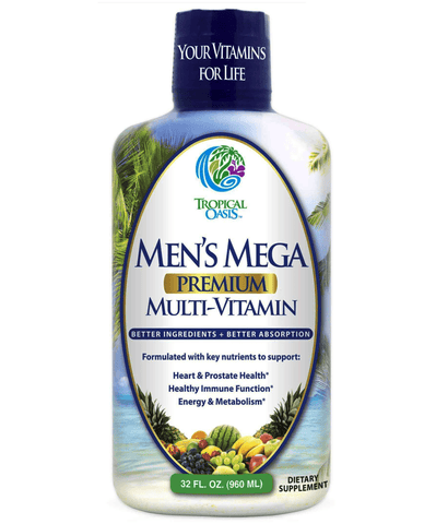 Men's Mega Liquid Multivitamin - 32 serv