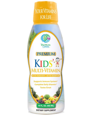 Kids Liquid Multivitamin Supplement - 16oz