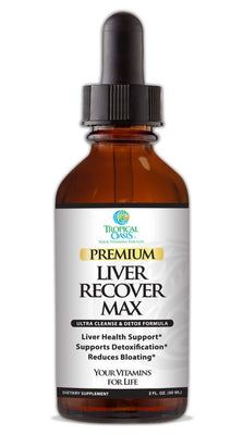 Premium Liver Recover MAX Liver Cleanse & Detox Supplement - All Natural Formula - Organic Chanca Piedra, Milk Thistle, Artichoke Leaf, Dandelion - 60 serv