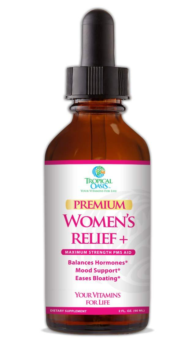 Premium Women's Relief Plus - Menopause Relief Supplement for PMS & Menstrual Cramps
