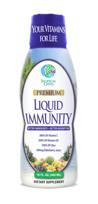 Tropical Oasis Liquid Immunity Boost