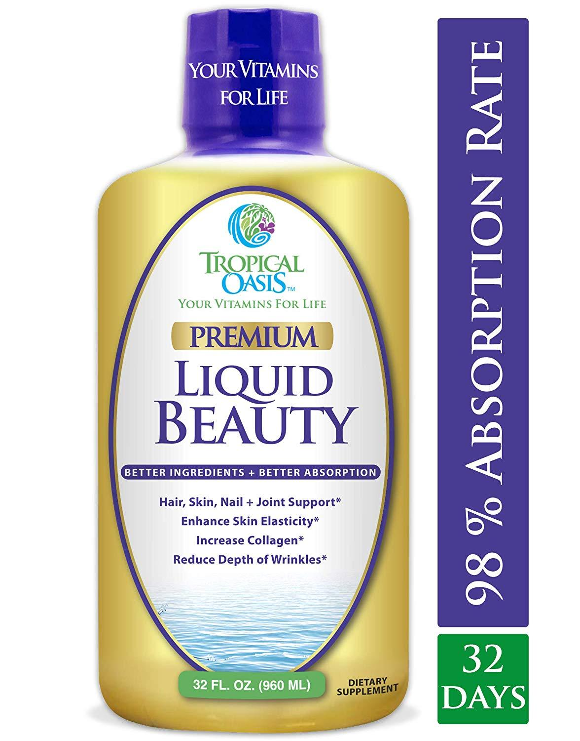 Premium Liquid Beauty Supplement, 32 servings