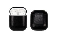 Black AirPod Leather Case