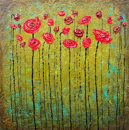 A Poppy Prayer - Alexandra Hunter Art