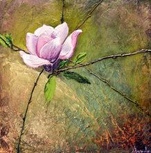 Magnolia in My Hands - Alexandra Hunter Art