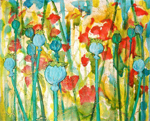 Poppyfield - Alexandra Hunter Art