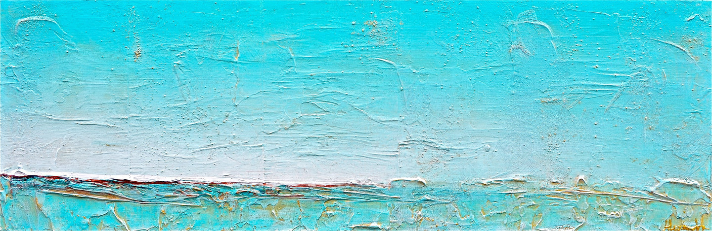 Teal Shores - Alexandra Hunter Art