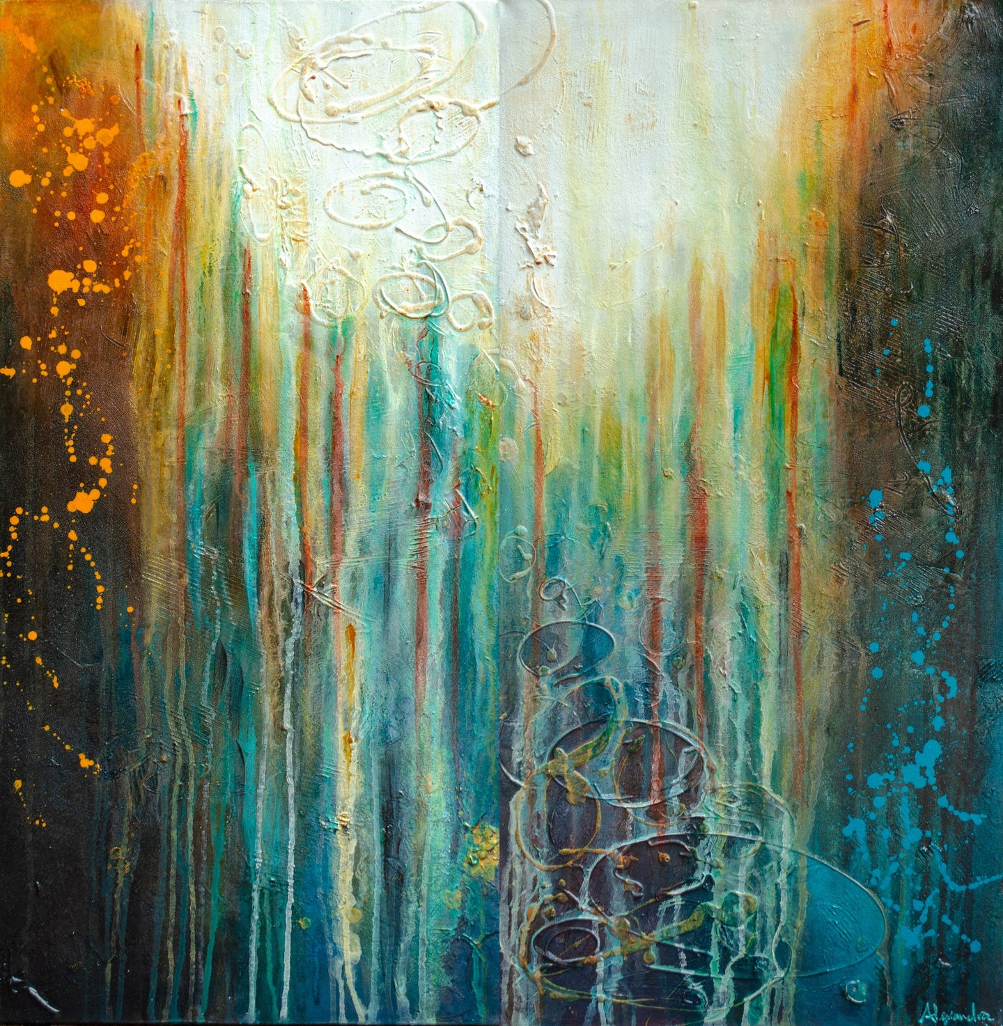 Interspace - Alexandra Hunter Art