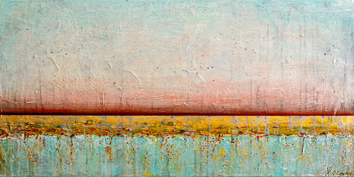 Sea, Sky, Fire - Alexandra Hunter Art