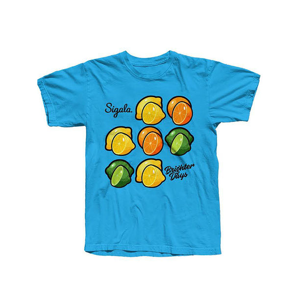 BLUE CITRUS T-SHIRT