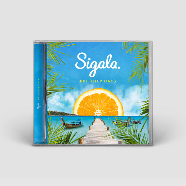 BRIGHTER DAYS - EXCLUSIVE SIGNED CD