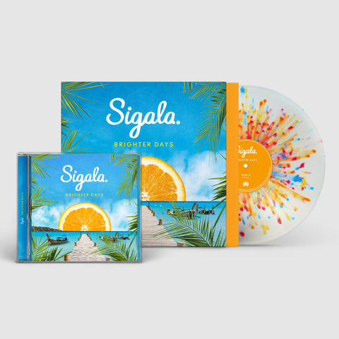 BRIGHTER DAYS - EXCLUSIVE SIGNED CD + SIGNED LP BUNDLE