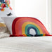 Chantal Rainbow Crewel Tassel Pillow