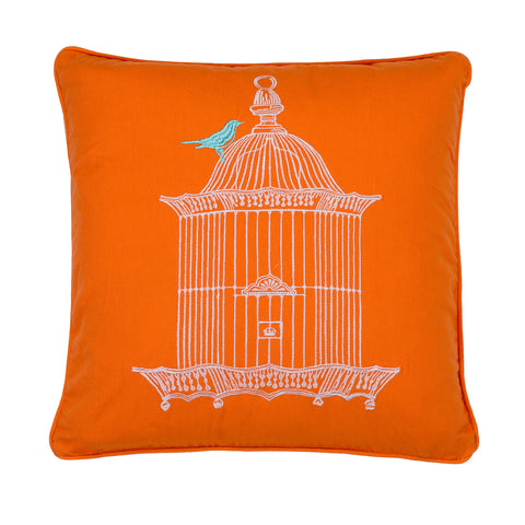 Abigail Birdcage Pillow