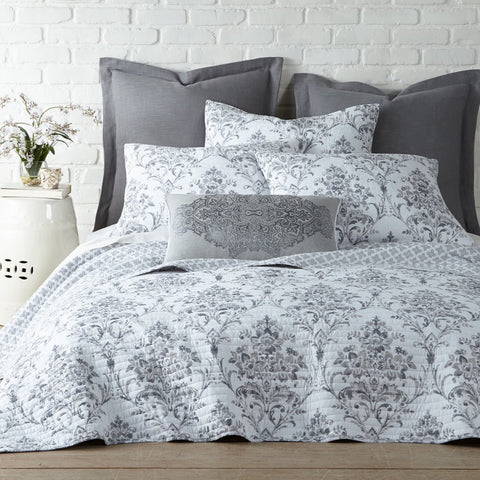 Asher Grey Quilt Set
